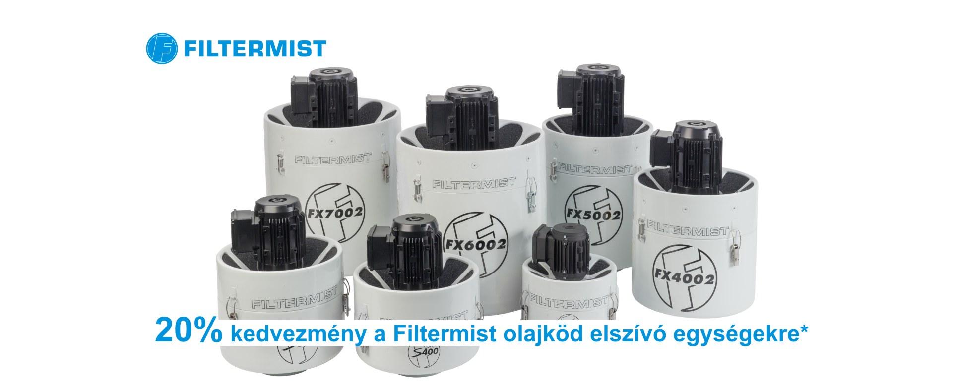 Filtermist akció